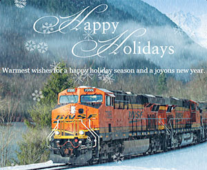 Happy Holidays from BNSF!