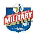 Most Valuable Employer Military Winner